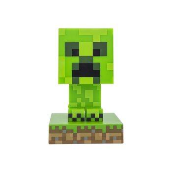 Lysande figur Minecraft - Creeper