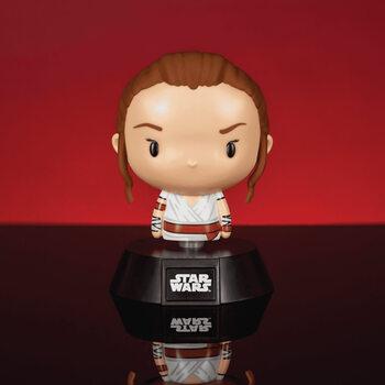 Lysande figur Star Wars - Rey