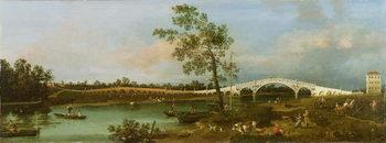Old Walton's Bridge, 1755 Festmény reprodukció