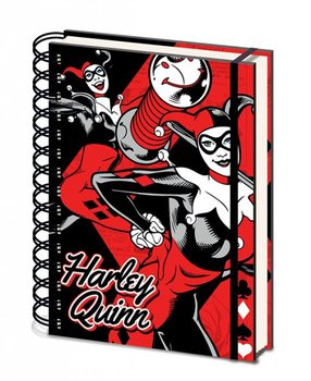 DC Originals - Harley Quinn A5 notebook  Olovka