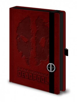 Dead Pool - Premium A5 Notebook  Olovka