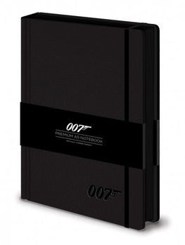 James bond - 007 Logo  Premium A5 Notebook  Olovka