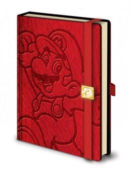 Mario - A5 Premium notebook Olovka