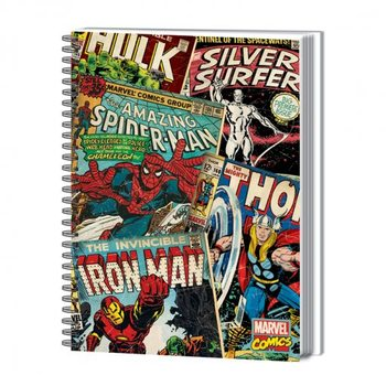 MARVEL MONTAGE - notebook  A4 Olovka