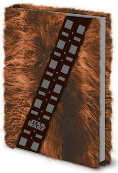 Star Wars - Chewbacca Fur Premium A5 Notebook Olovka