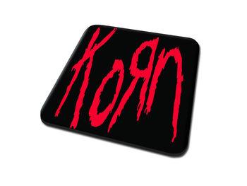 Korn - Logo Onderzetters