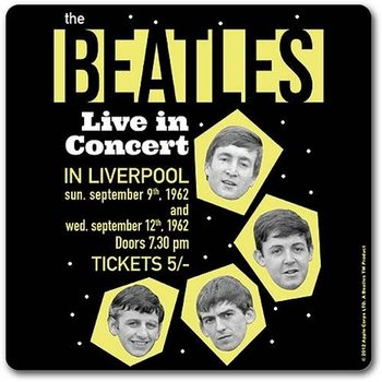 The Beatles - Live In Concert Onderzetters