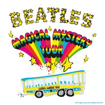 The Beatles – Magical Mystery Tour Album Onderzetters