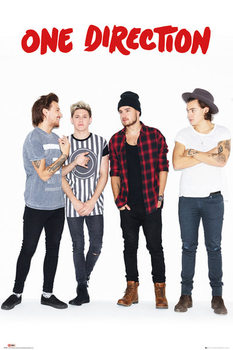 One Direction - New Group плакат