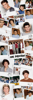 One Direction - polaroids - плакат (poster)