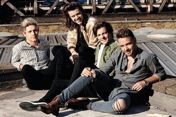 One Direction - Rooftop - плакат (poster)