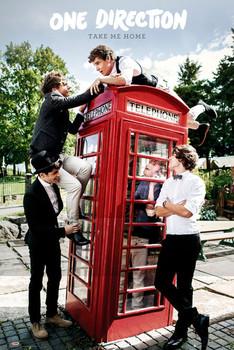One Direction - take me home плакат