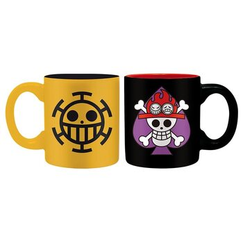 Csésze One Piece - Ace & Trafalgar