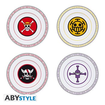Piatto One Piece - Emblems