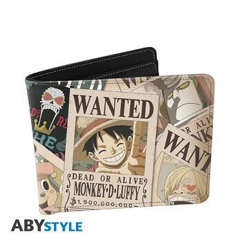 Billetera One Piece - Wanted