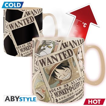 Taza One Piece - Wanted