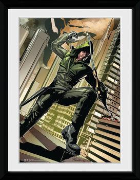 Arrow - Cover Green oprawiony plakat