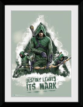 Arrow - Destiny oprawiony plakat
