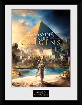 Assassins Creed: Origins - Cover oprawiony plakat