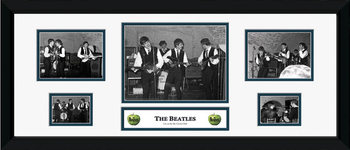 Beatles - carven oprawiony plakat