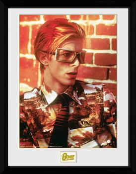 David Bowie - Glasses oprawiony plakat