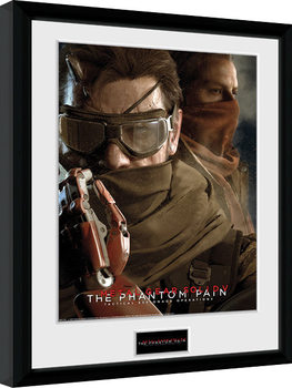 Metal Gear Solid V - Goggles oprawiony plakat