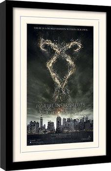 MORTAL INSTRUMENTS - rune oprawiony plakat