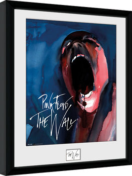 Pink Floid: The Wall - Scream oprawiony plakat