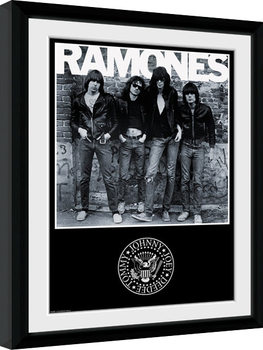The Ramones - Album oprawiony plakat