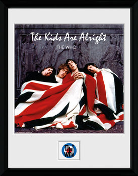 The Who - The Kids ae Alright oprawiony plakat