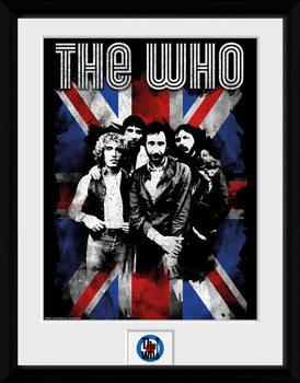 The Who - Union Jack oprawiony plakat