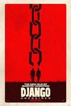 Oprawiony plakat Django - unchained