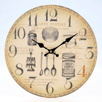 Design Clocks - Bowls and spoons óra