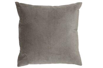 Oreiller Coussin Khios -  Velvet Silver Grey