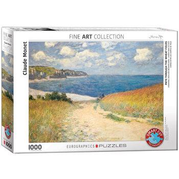 Puzzle Claude Monet - Path through the Wheat Fields