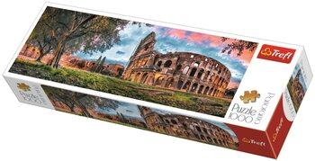 Puzzle Colosseum at Dawn