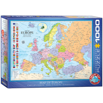 Puzzle Map of Europe