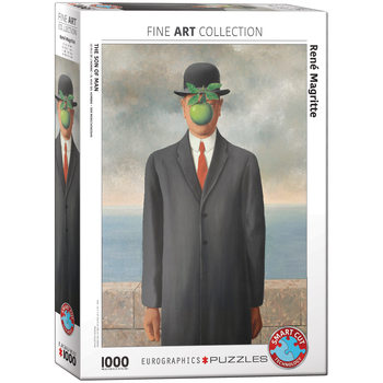 Puzzle Son of Man by Rene Magritte