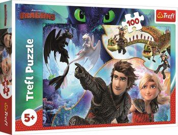 Puzzle Ako vycvičiť draka 3: V krajine drakov