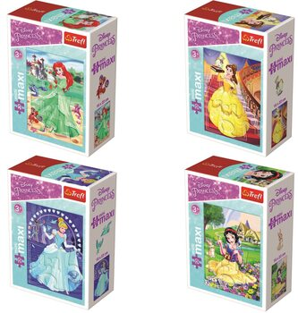 Puzzle Disney Princess 4in1