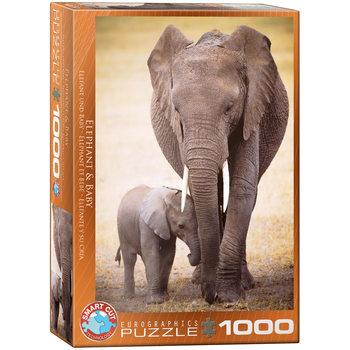 Puzzle Elephant & Baby