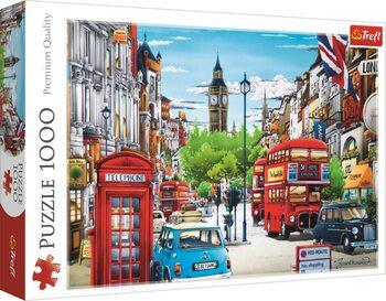 Puzzle Londýnska ulica