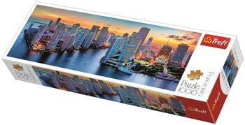 Puzzle Miami po súmraku