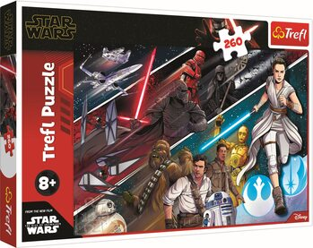 Puzzle Star Wars: Vzostup Skywalkera