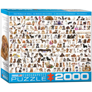 Puzzle The World of Dogs