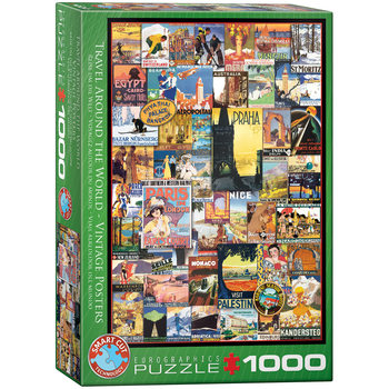 Puzzle Travel Around the World
