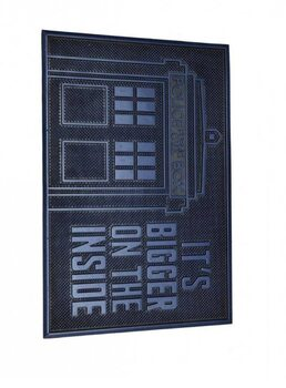 Kućni otirač Dr. Who - Tardis (Rubber)