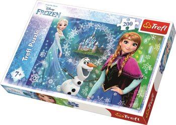 Puzzle Frozen, el reino del hielo