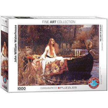 Puzzle John William Waterhouse - The Lady of Shalott