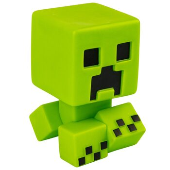 Figurita Minecraft - Creeper Mega Bobble Mobs (Green Glow in the dark)